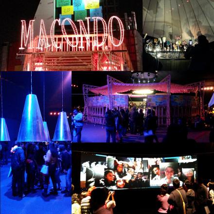 2015 – Instalación Sonora, Pabellón Macondo, FILBO