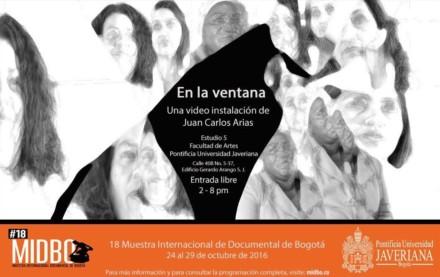 """2016 – """"En la ventana"""" de Juan Carlos Arias"""